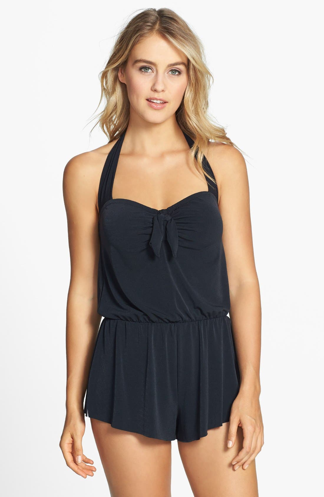 Alternate Image 1 Selected - Magic Suit by Miraclesuit® 'Romy' One-Piece Romper Swimsuit