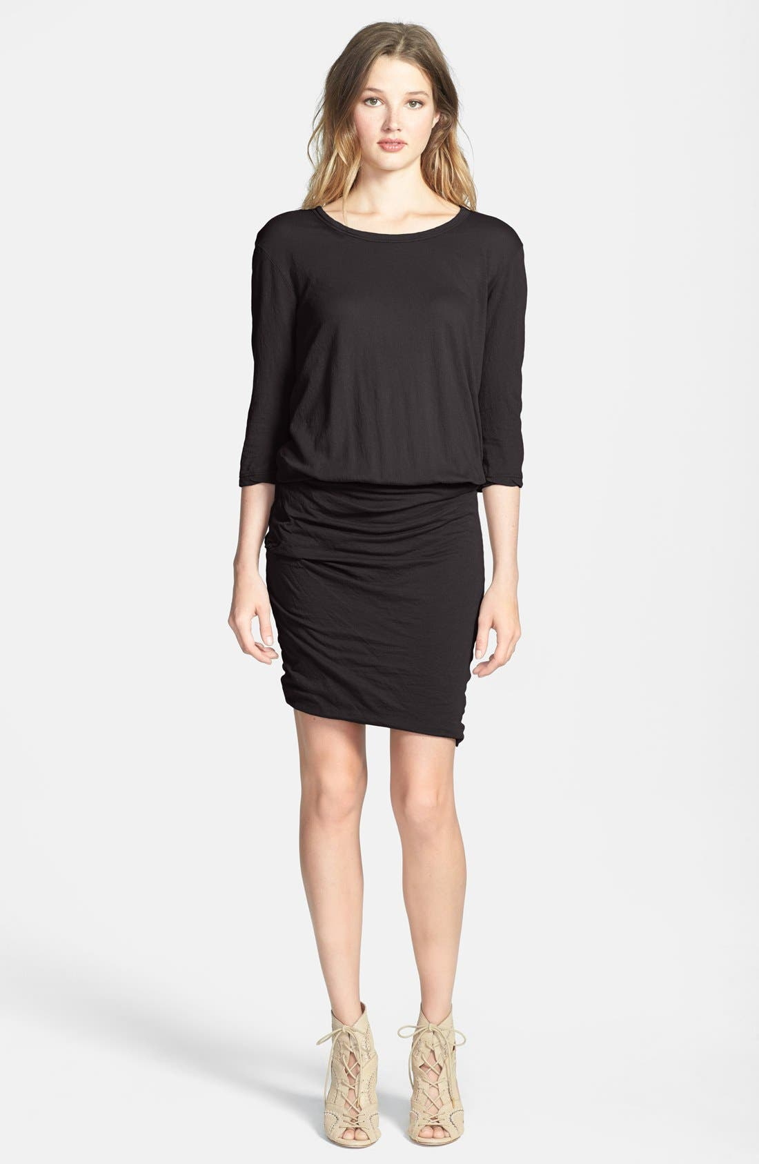 Alternate Image 1 Selected - James Perse Jersey Blouson Dress