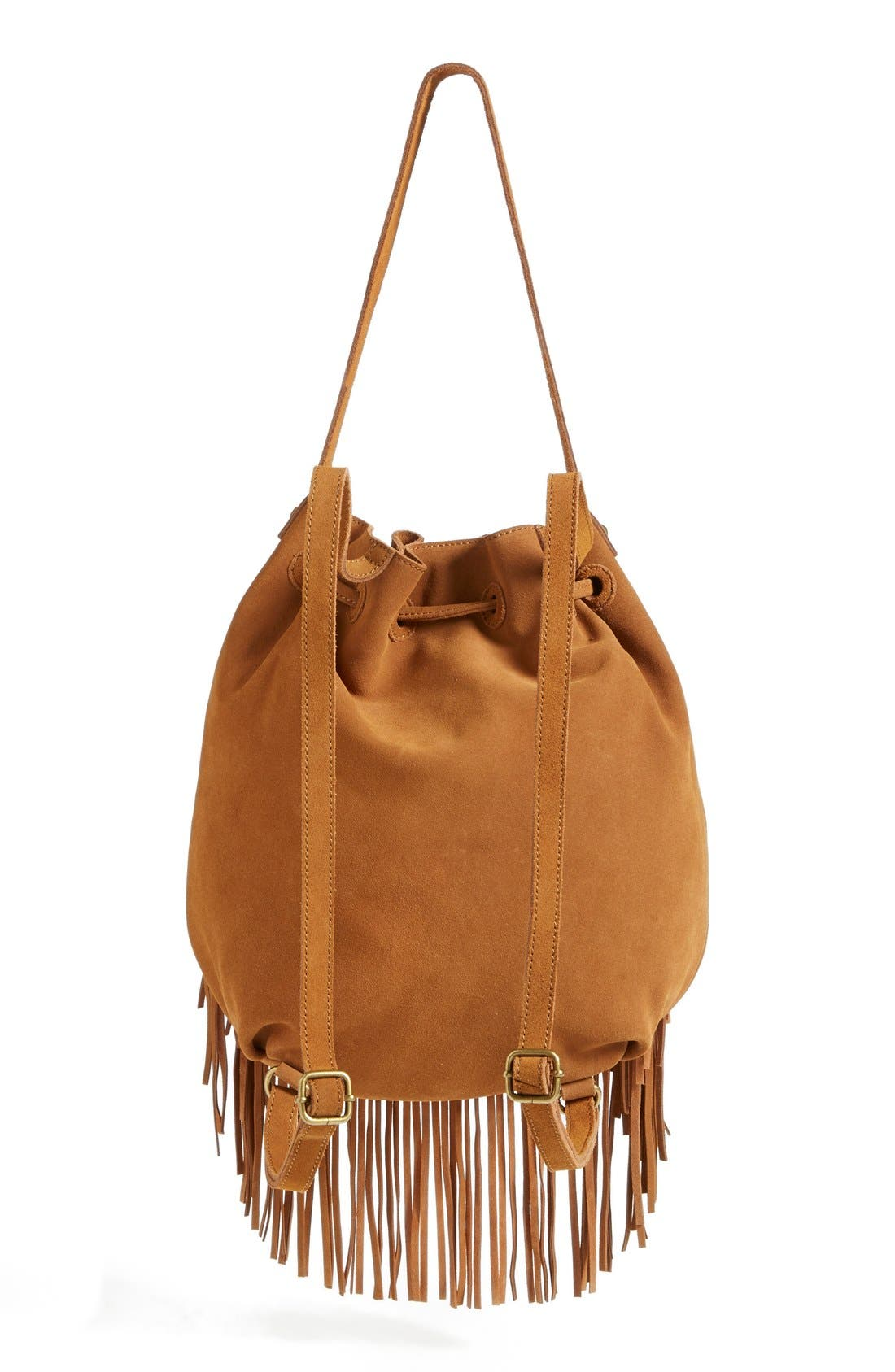 Alternate Image 4  - Steve Madden Fringed Shoulder Bag