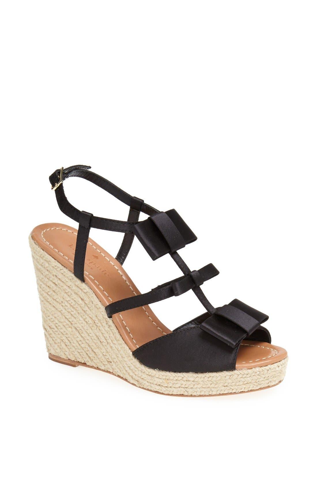 Main Image - kate spade new york 'juju' wedge sandal