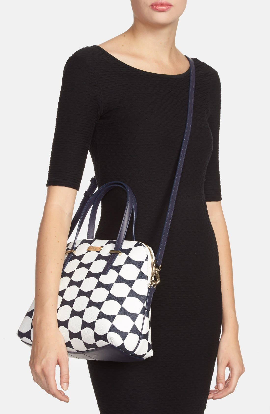 Alternate Image 2  - kate spade new york 'maise - bow tile' satchel