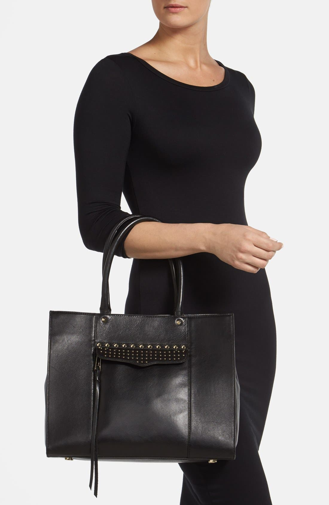 Alternate Image 3  - Rebecca Minkoff 'Medium MAB' Studded Tote