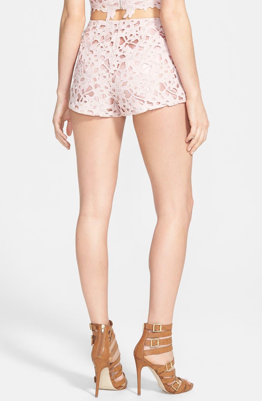 Alternate Image 2  - ASTR Lace Shorts
