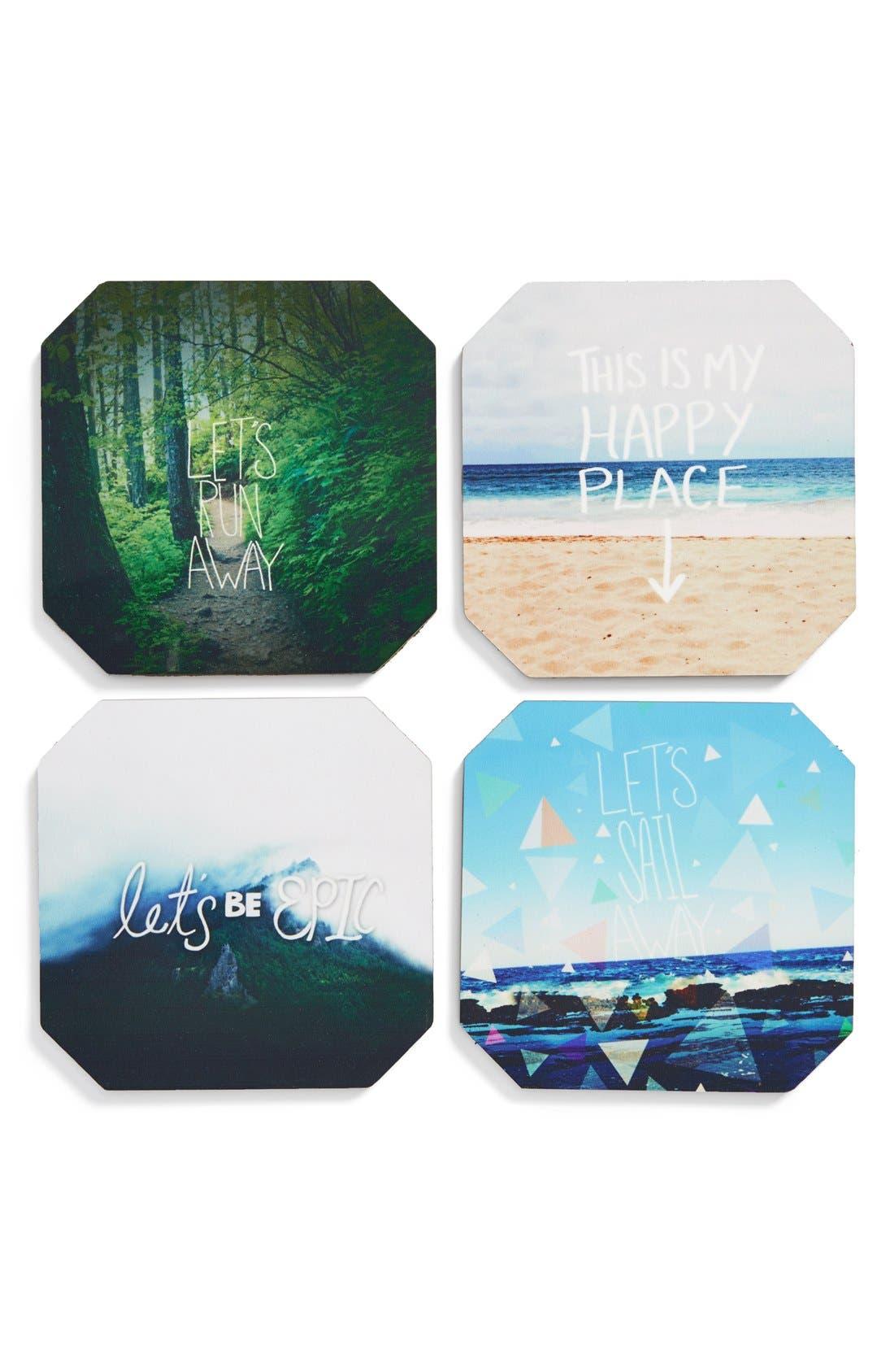 Main Image - DENY Designs Coasters (Set of 4)