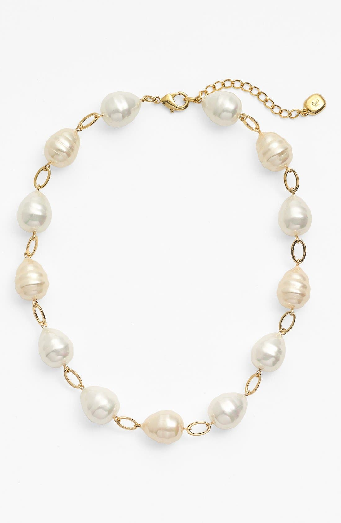 Alternate Image 2  - Lauren Ralph Lauren Shell Pearl Collar Necklace