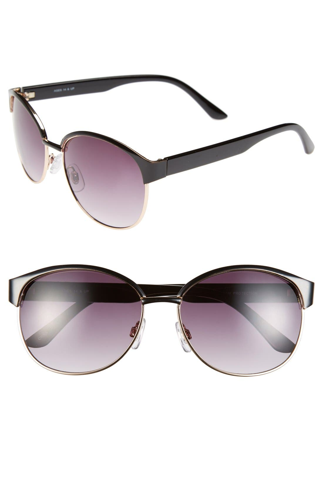 Alternate Image 1 Selected - Fantas Eyes 'Windsor' 60mm Sunglasses (Juniors)