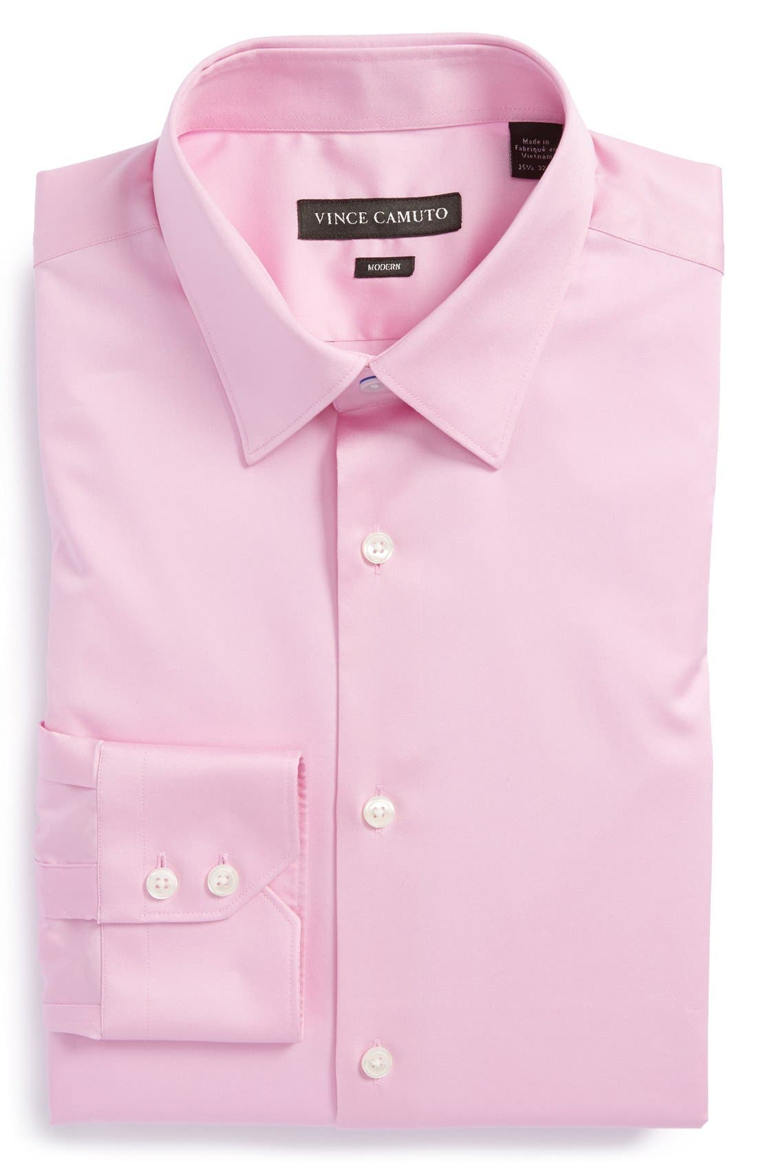 Alternate Image 1 Selected - Vince Camuto Modern Fit Solid Dress Shirt