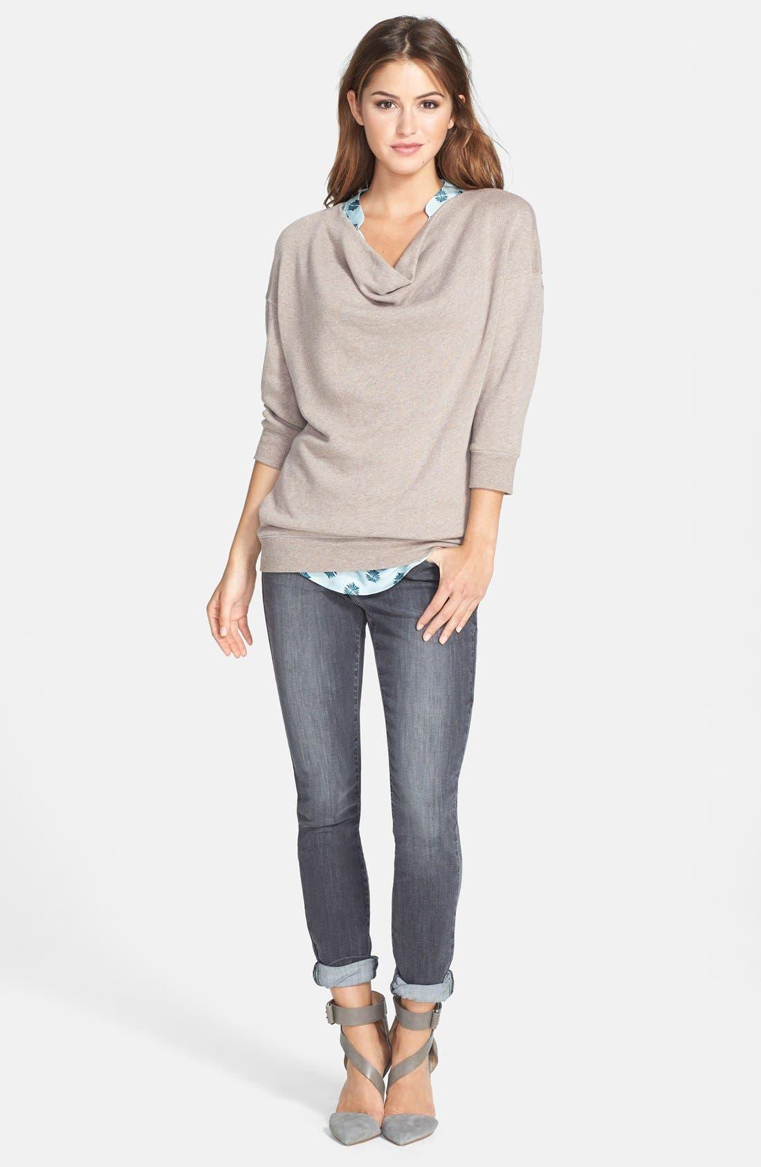Alternate Image 9  - NYDJ 'Ami' Stretch Skinny Jeans (Dakota) (Regular & Petite)