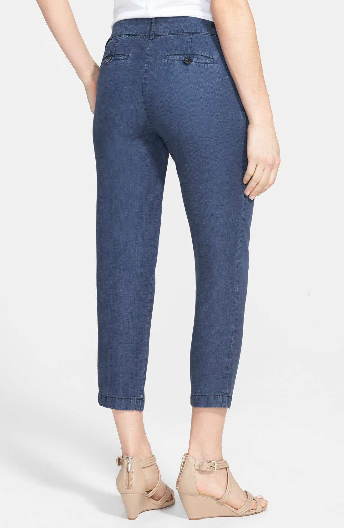 Alternate Image 2  - KUT from the Kloth Relaxed Crop Trouser Jeans