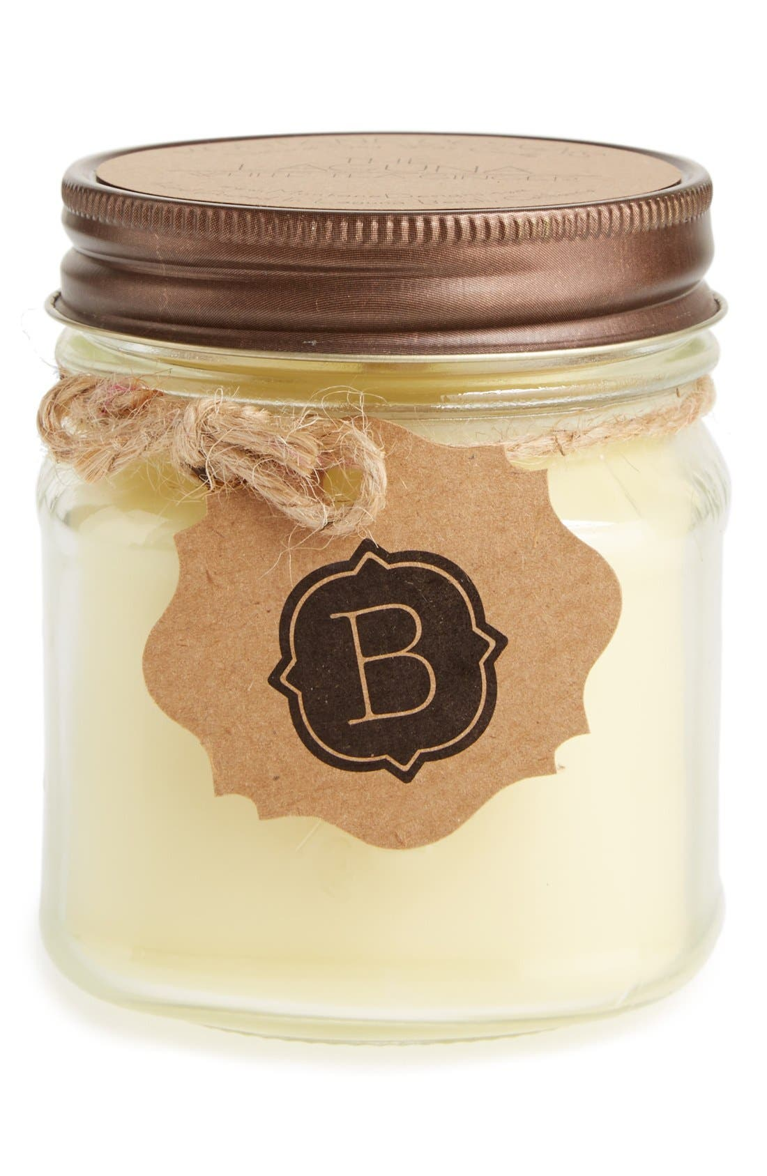 Alternate Image 1 Selected - Montane Designs Personalized Mini Mason Jar White Tea Ginger Candle