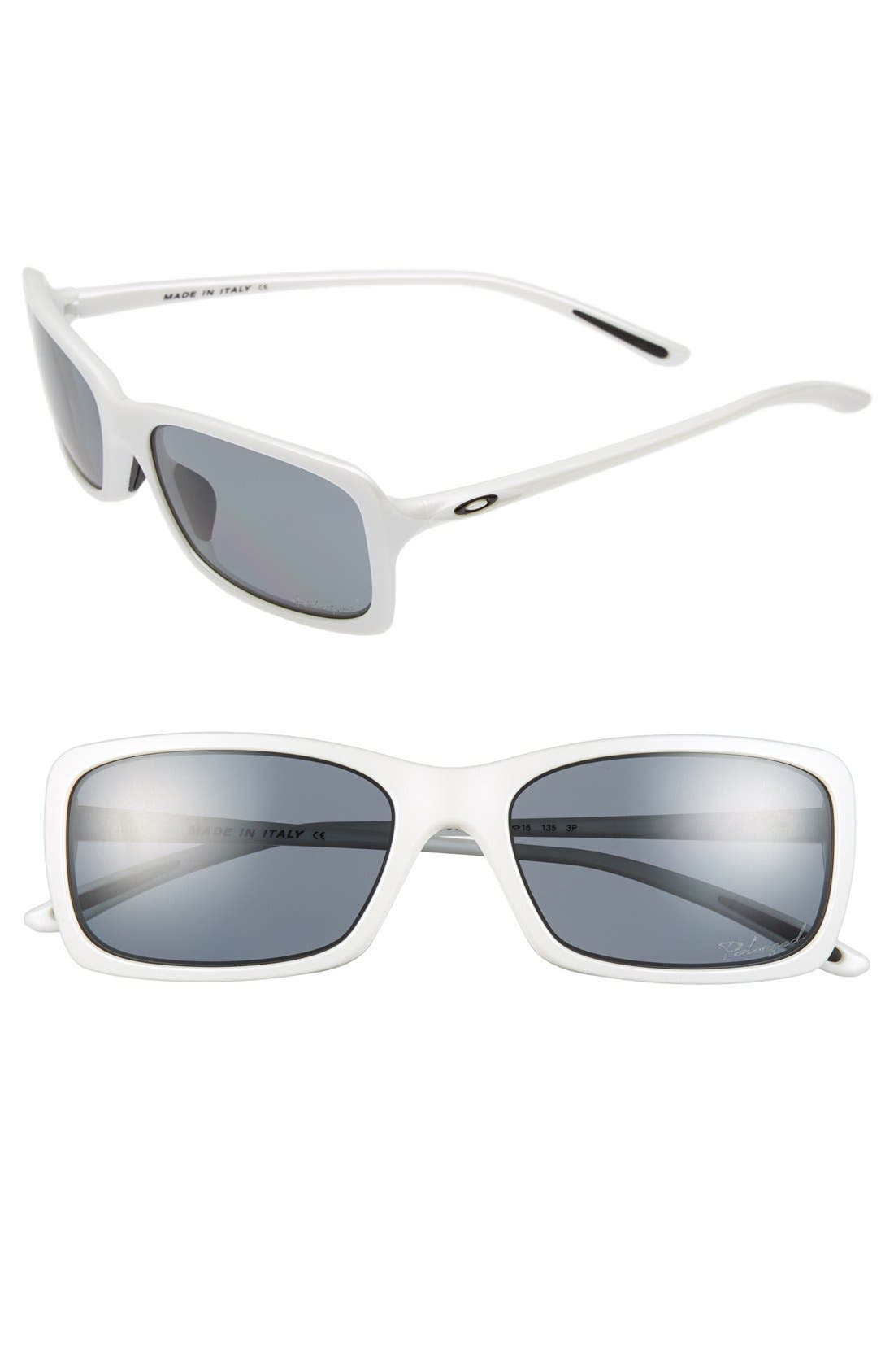 Alternate Image 1 Selected - Oakley 'Hall Pass' 56mm Polarized Sunglasses