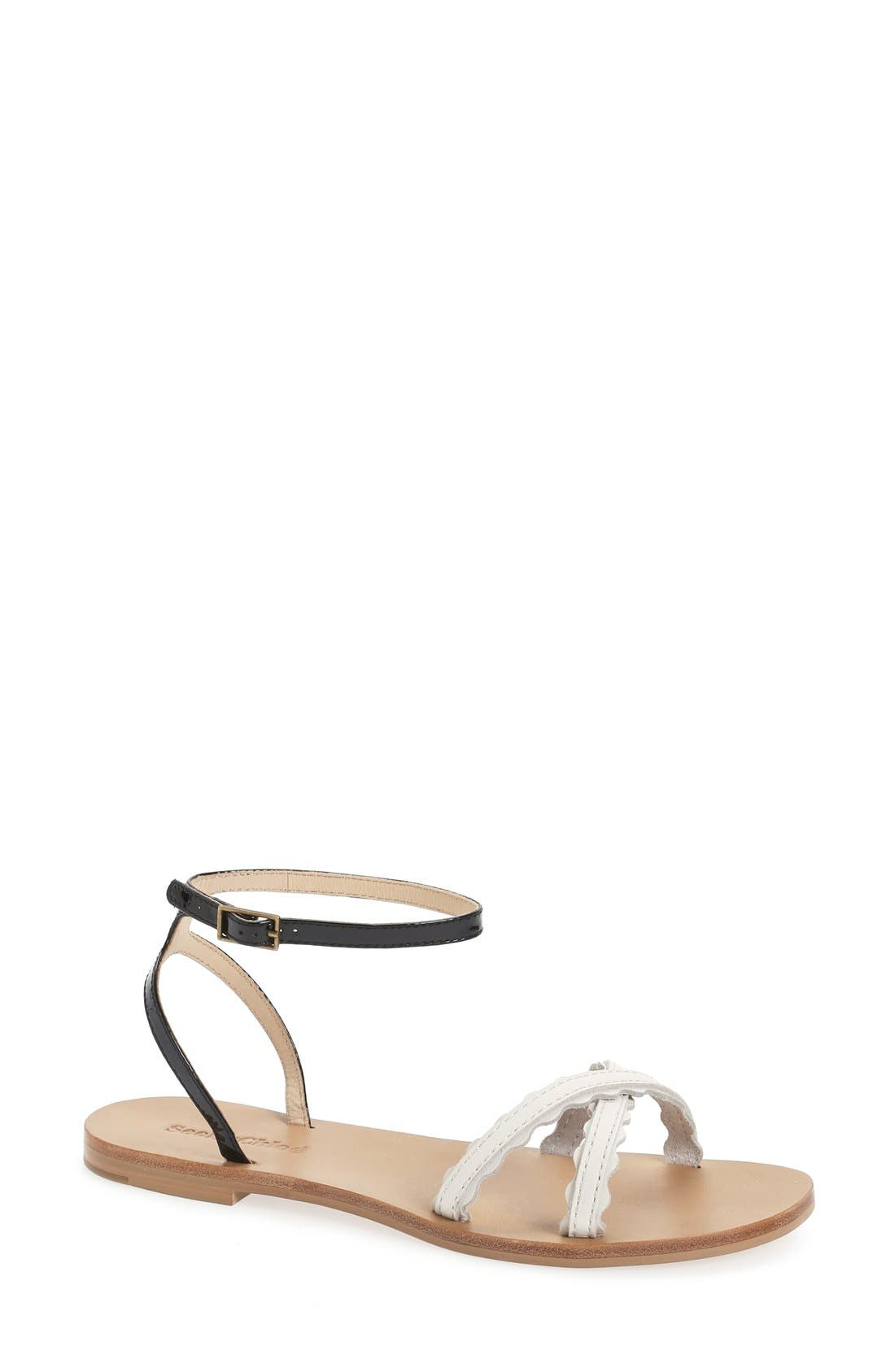 Alternate Image 1 Selected - See by Chloé Flat Sandal