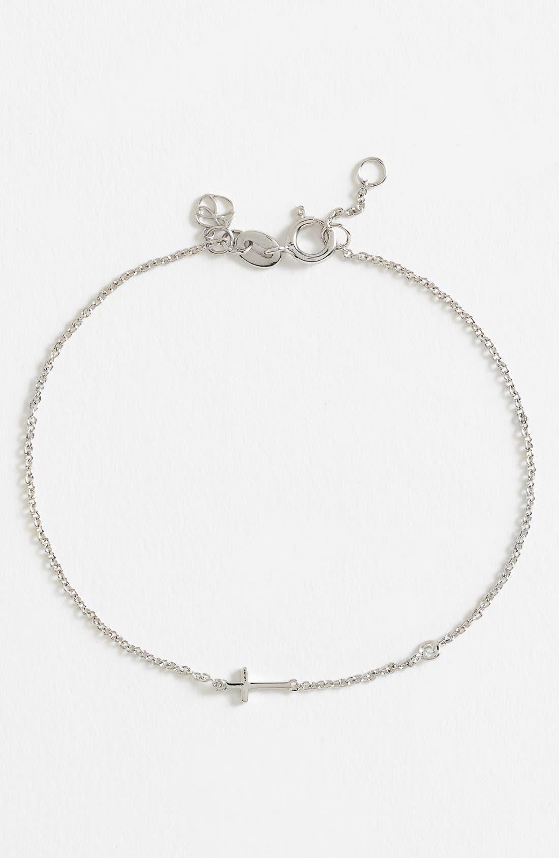 Main Image - Shy by SE Cross Bracelet
