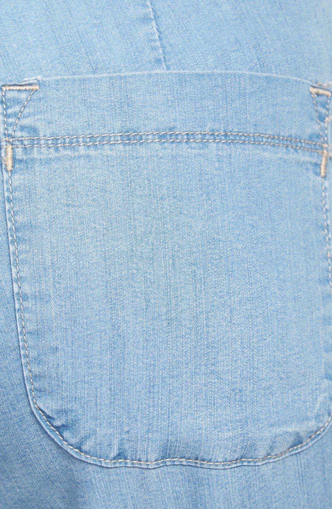 Alternate Image 3  - NYDJ 'Lindsey' Wide Leg Pants (Regular & Petite)