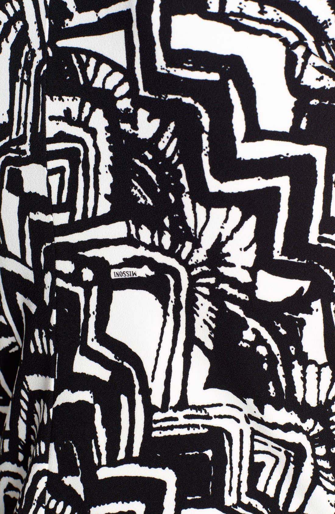 Alternate Image 3  - Missoni V-Neck Print Dress