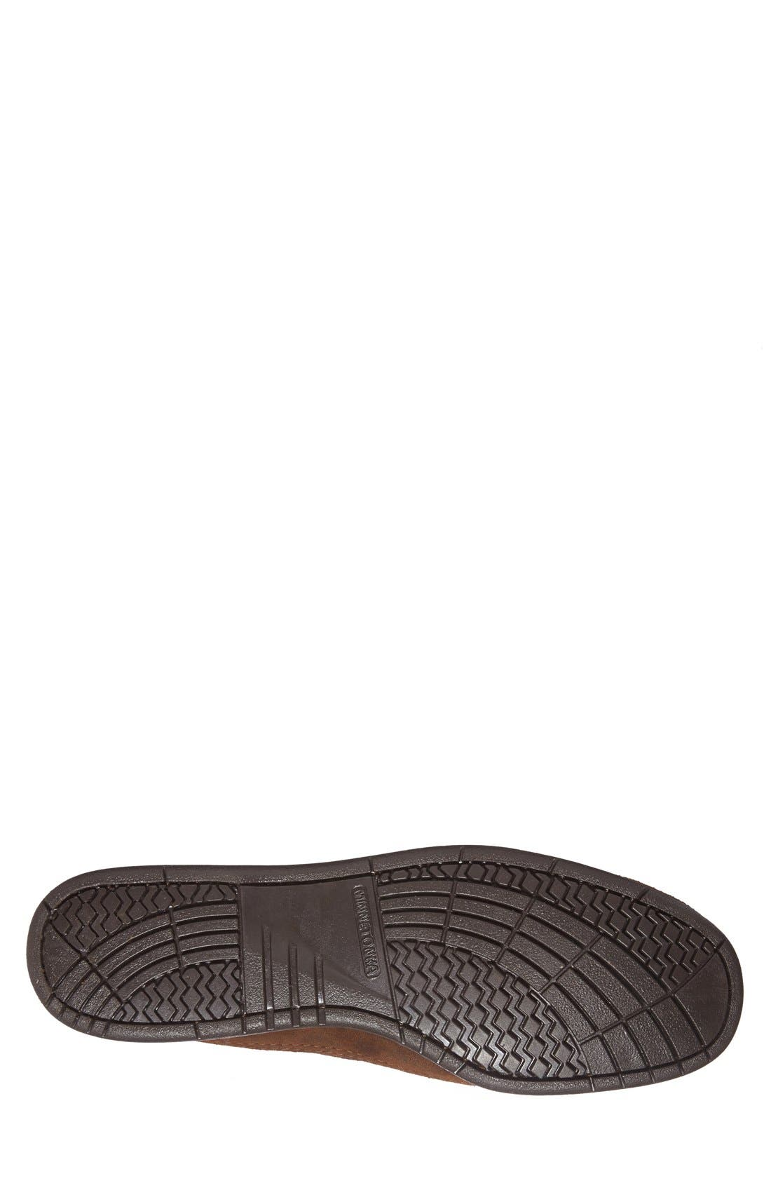 Alternate Image 4  - Minnetonka Leather Moccasin