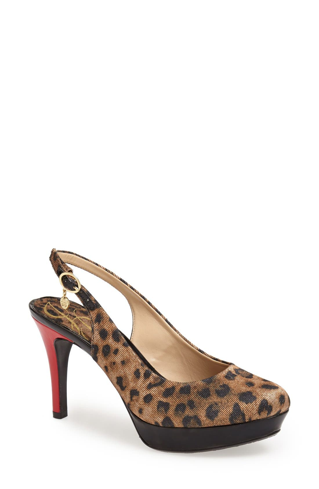 Alternate Image 1 Selected - J. Reneé 'Devlin' Platform Pump