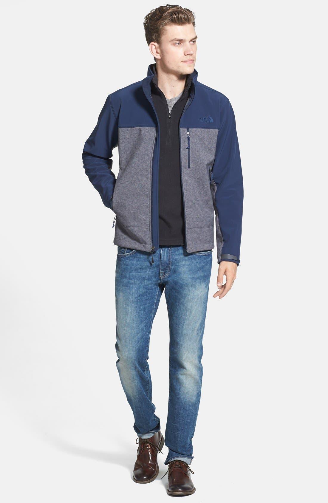 Alternate Image 5  - Mavi Jeans 'Zach' Straight Leg Jeans (Light Used Yaletown)