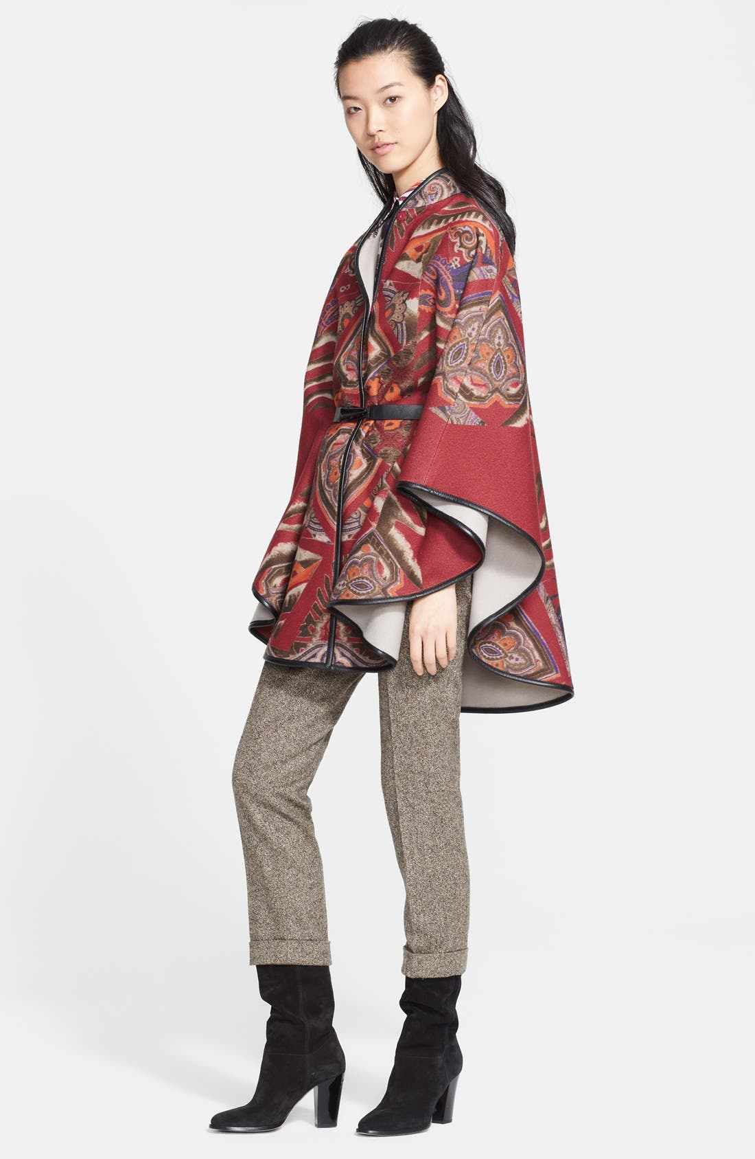 Alternate Image 3  - Etro Print Stretch Cotton Blouse