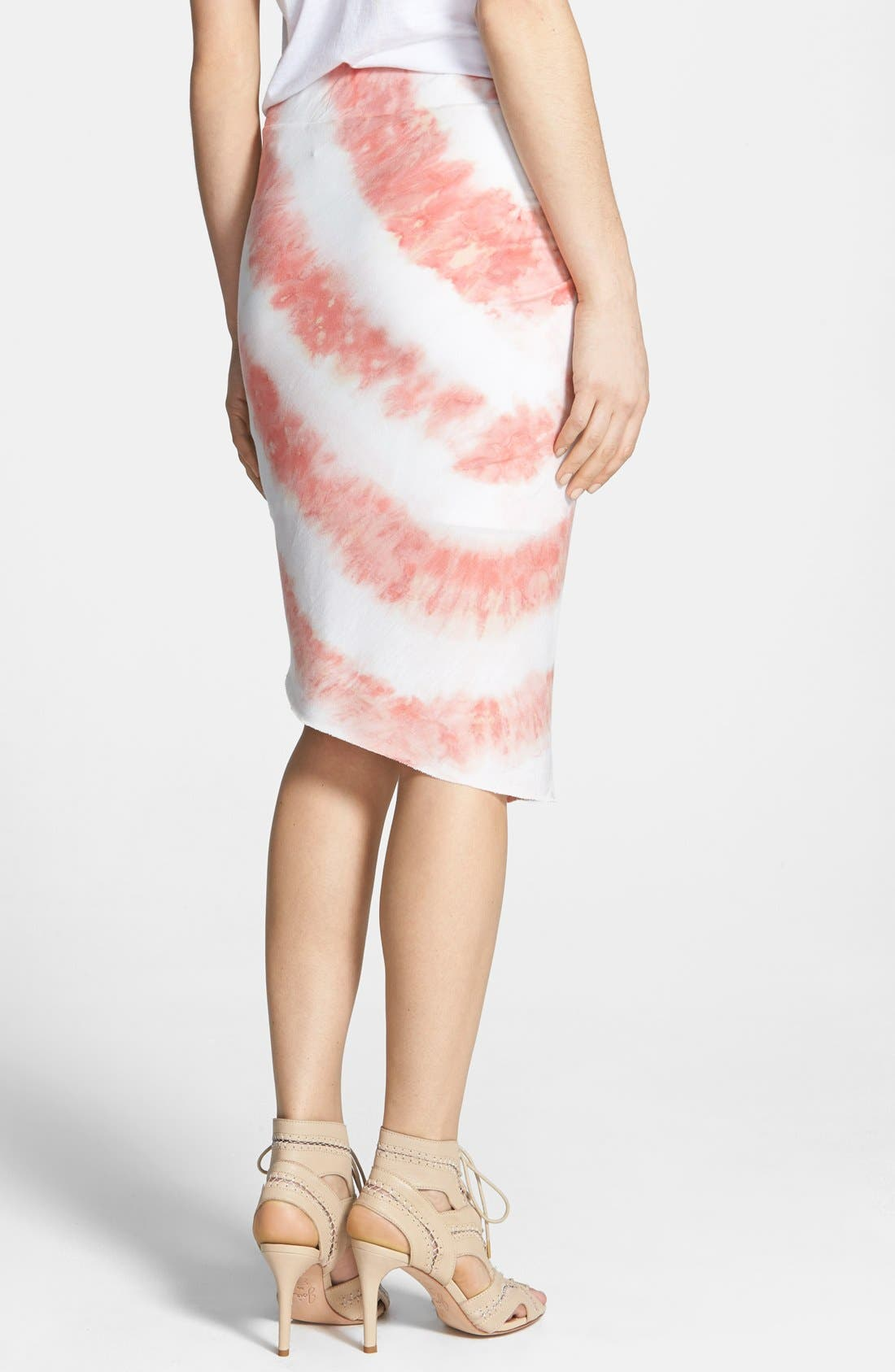 Alternate Image 2  - Young Fabulous & Broke 'Kulani' Tie Dye Stripe Skirt