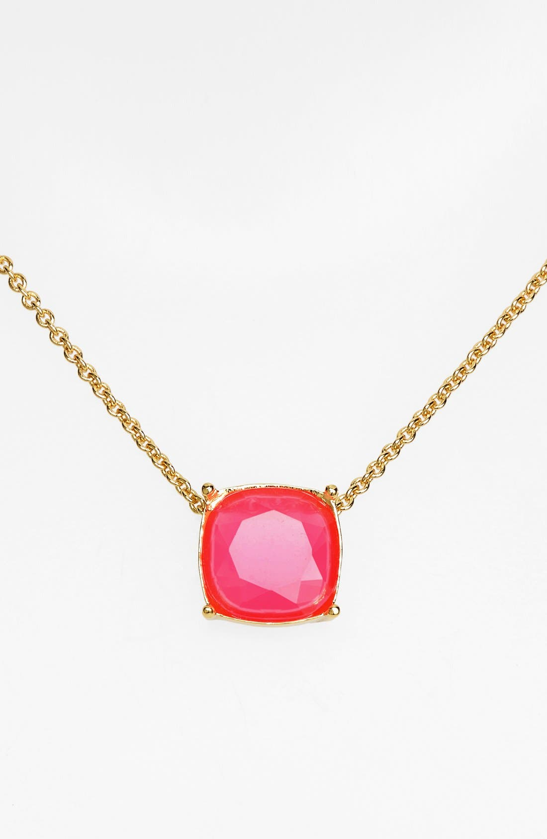 Alternate Image 1 Selected - kate spade new york 'cause a stir' stone pendant necklace
