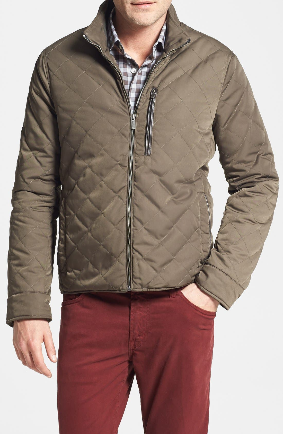 Alternate Image 1 Selected - Cole Haan Quilted Jacket (Online Only)