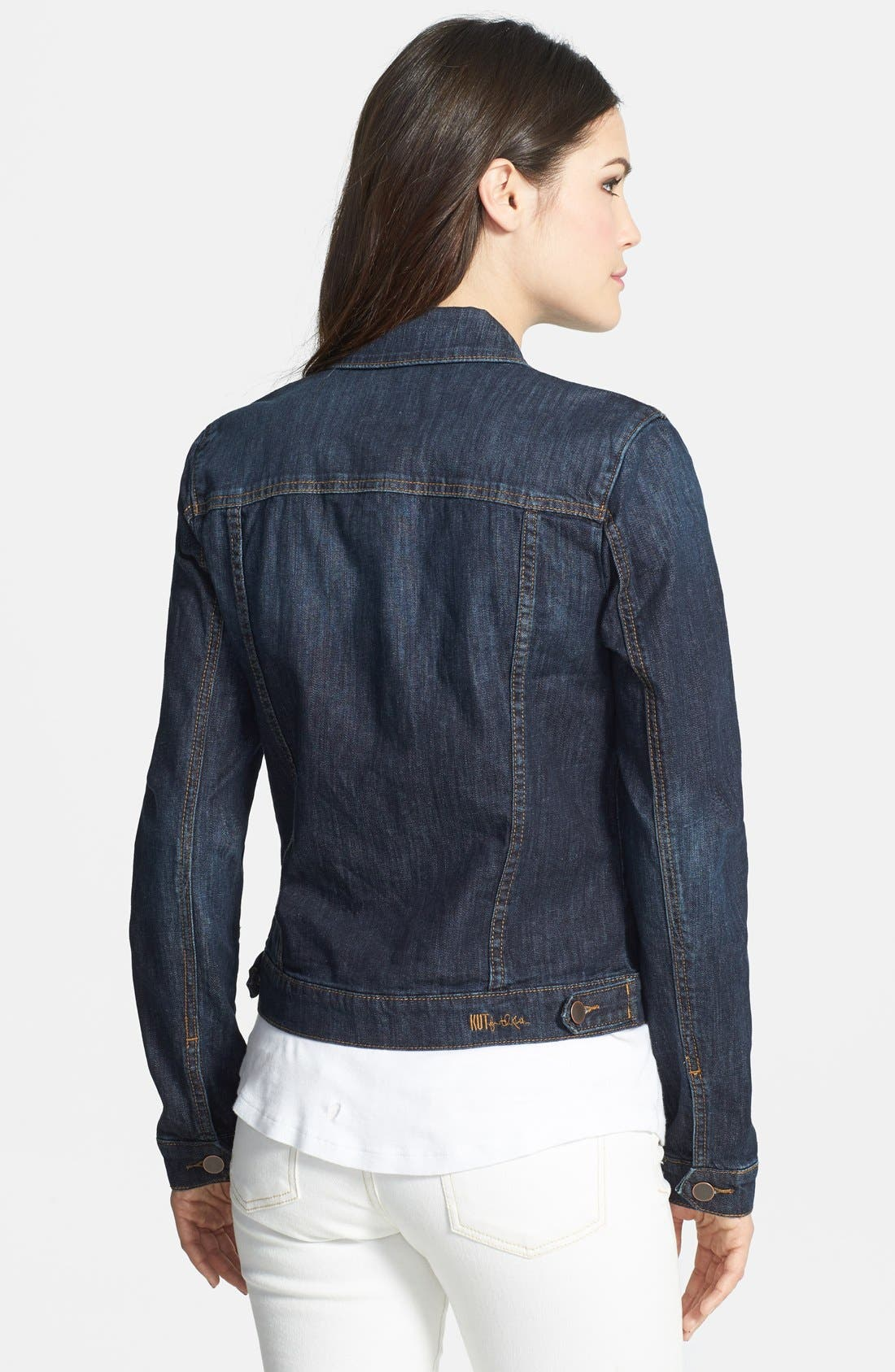 Alternate Image 2  - KUT from the Kloth Denim Jacket