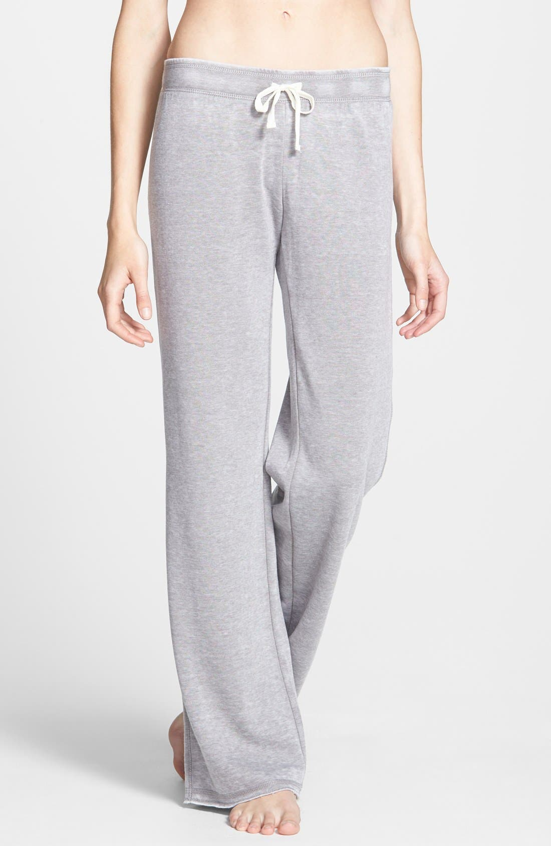 Alternate Image 1 Selected - BP. Undercover 'Gym Class' Sweatpants (Juniors) (Online Only)