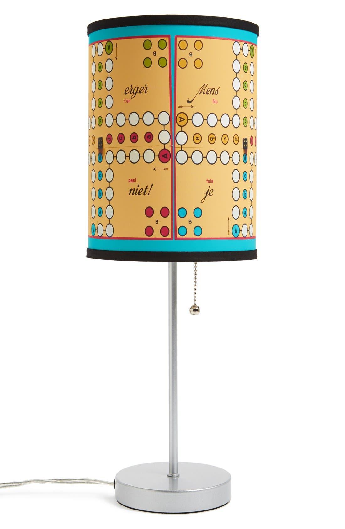 Alternate Image 1 Selected - LAMP-IN-A-BOX 'Ludo' Print Table Lamp