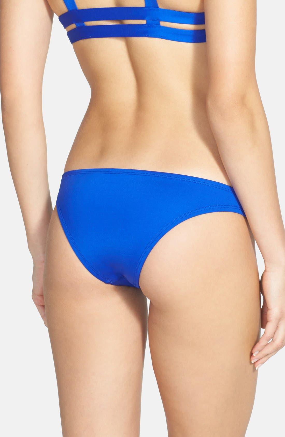 Alternate Image 2  - Vitamin A® 'Neutra' Hipster California Cut Bikini Bottoms