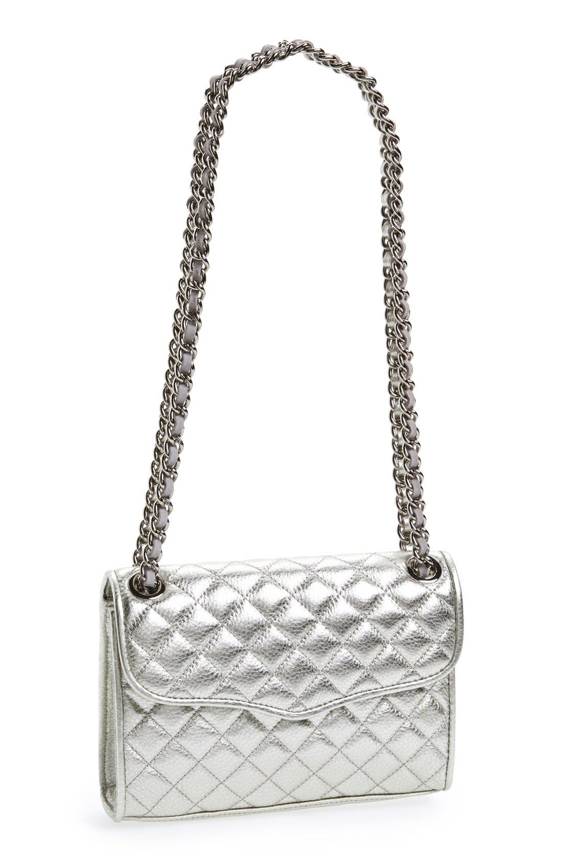 Alternate Image 1 Selected - Rebecca Minkoff 'Mini Quilted Affair' Shoulder Bag
