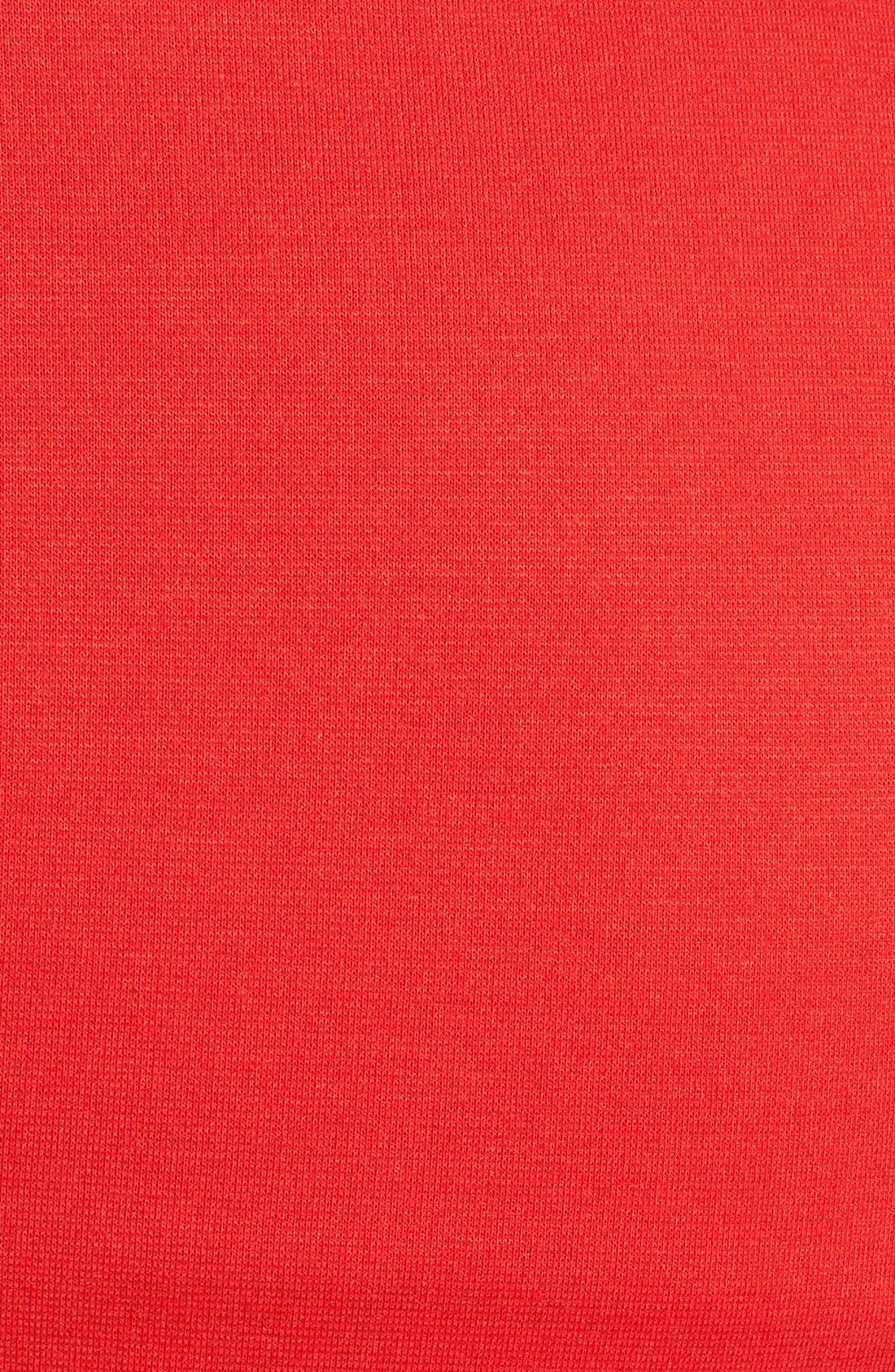 Princess Shift Maternity Dress,                             Alternate thumbnail 2, color,                             Red