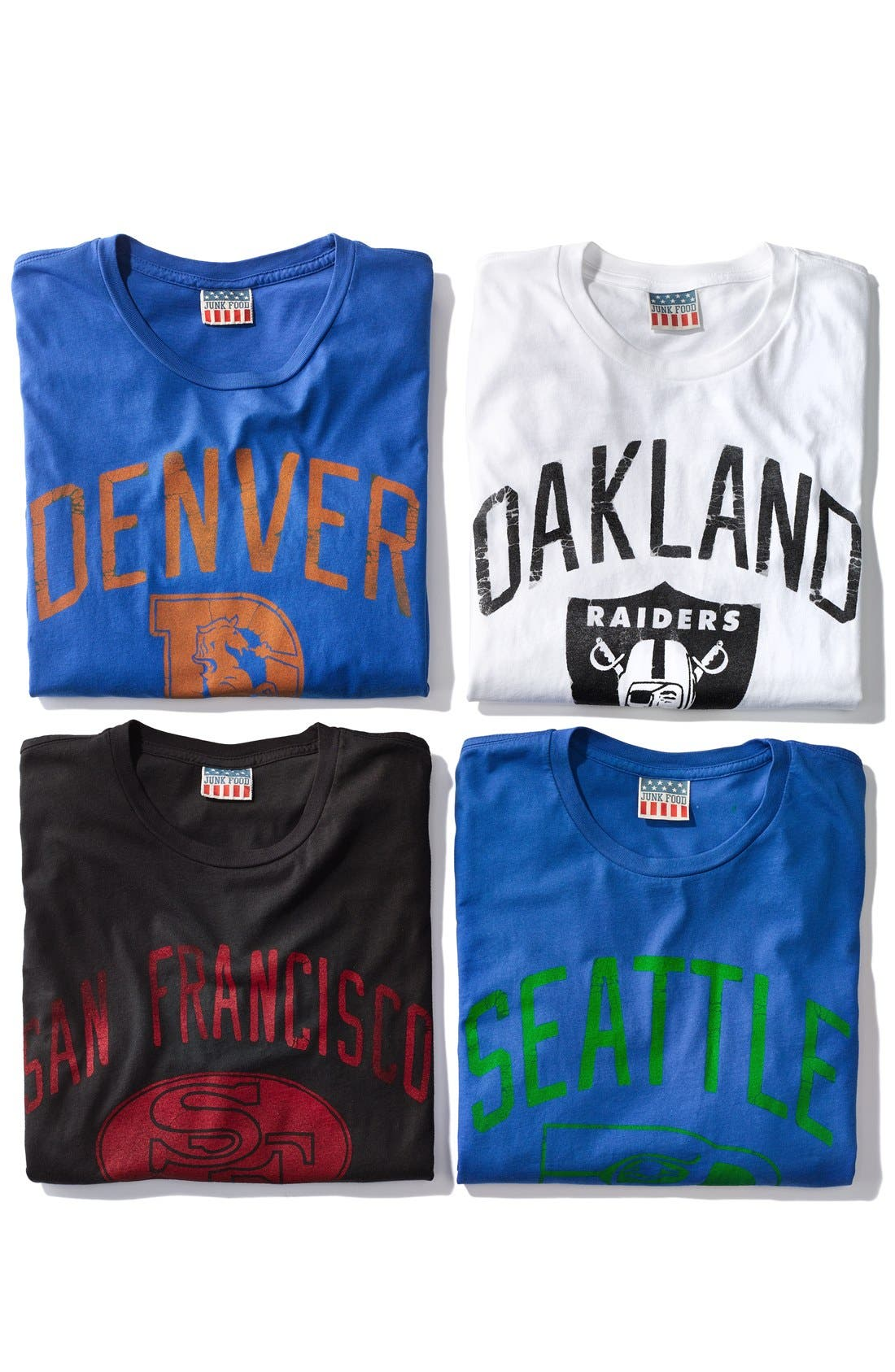 Alternate Image 4  - Junk Food 'Oakland Raiders' Graphic T-Shirt