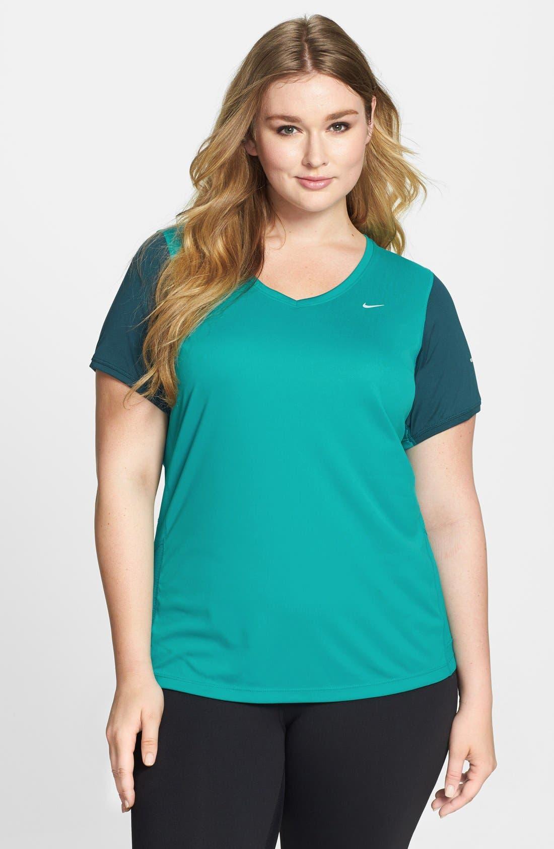 Main Image - Nike Tee & Capris