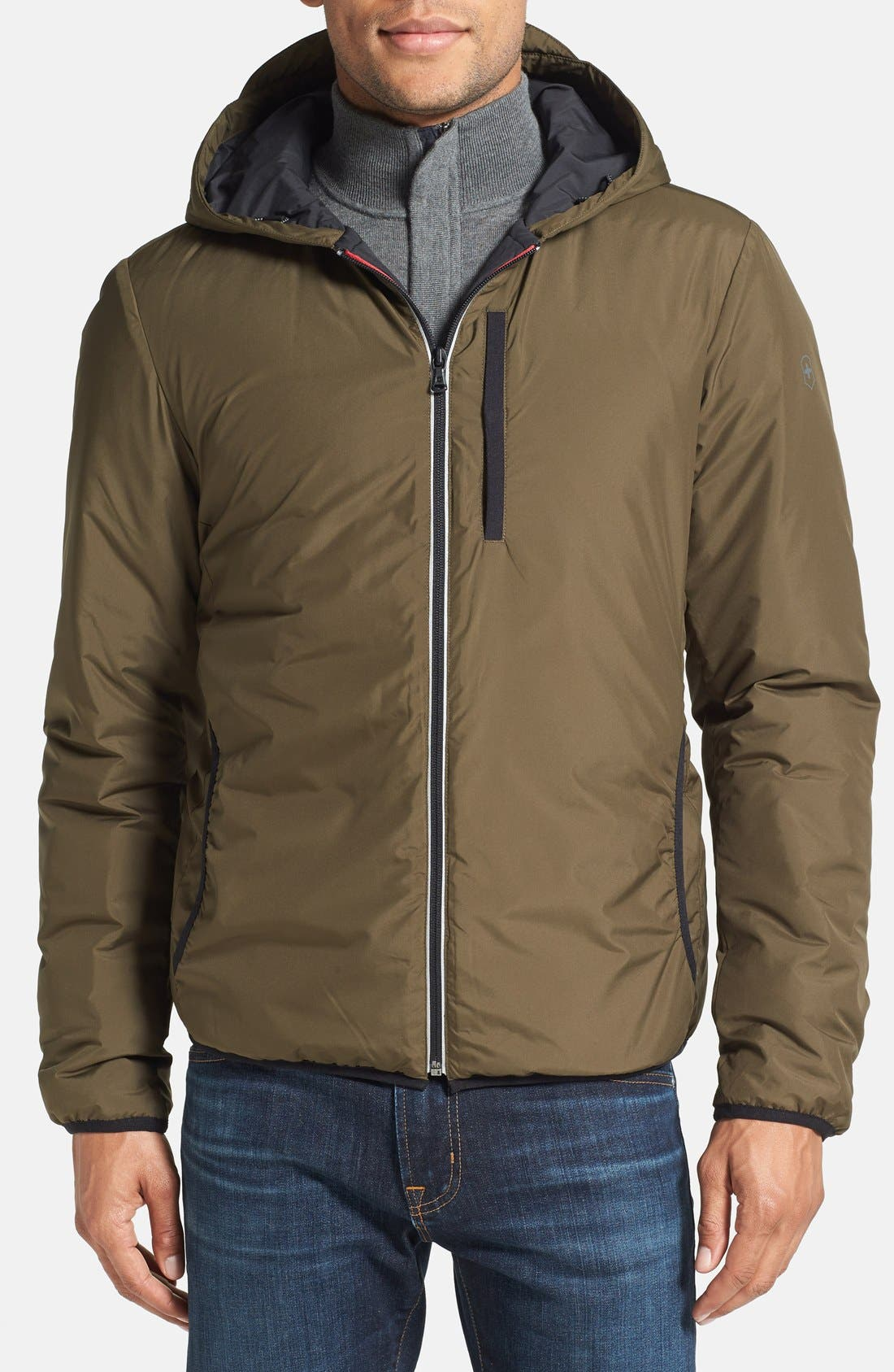 Alternate Image 1 Selected - Victorinox Swiss Army® 'Rigton' Thermore® Insulated Water Resistant Jacket