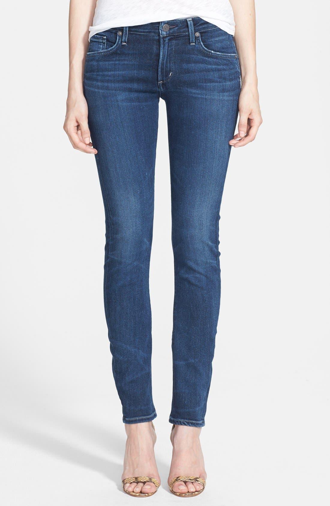 Arielle Slim Jeans,                         Main,                         color, Hewett