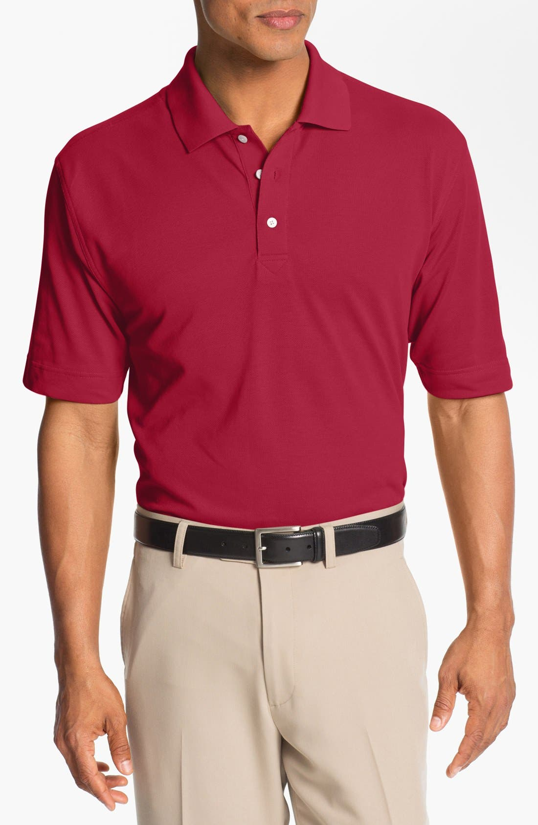 Alternate Image 1 Selected - Cutter & Buck 'Championship' DryTec Golf Polo (Big & Tall)