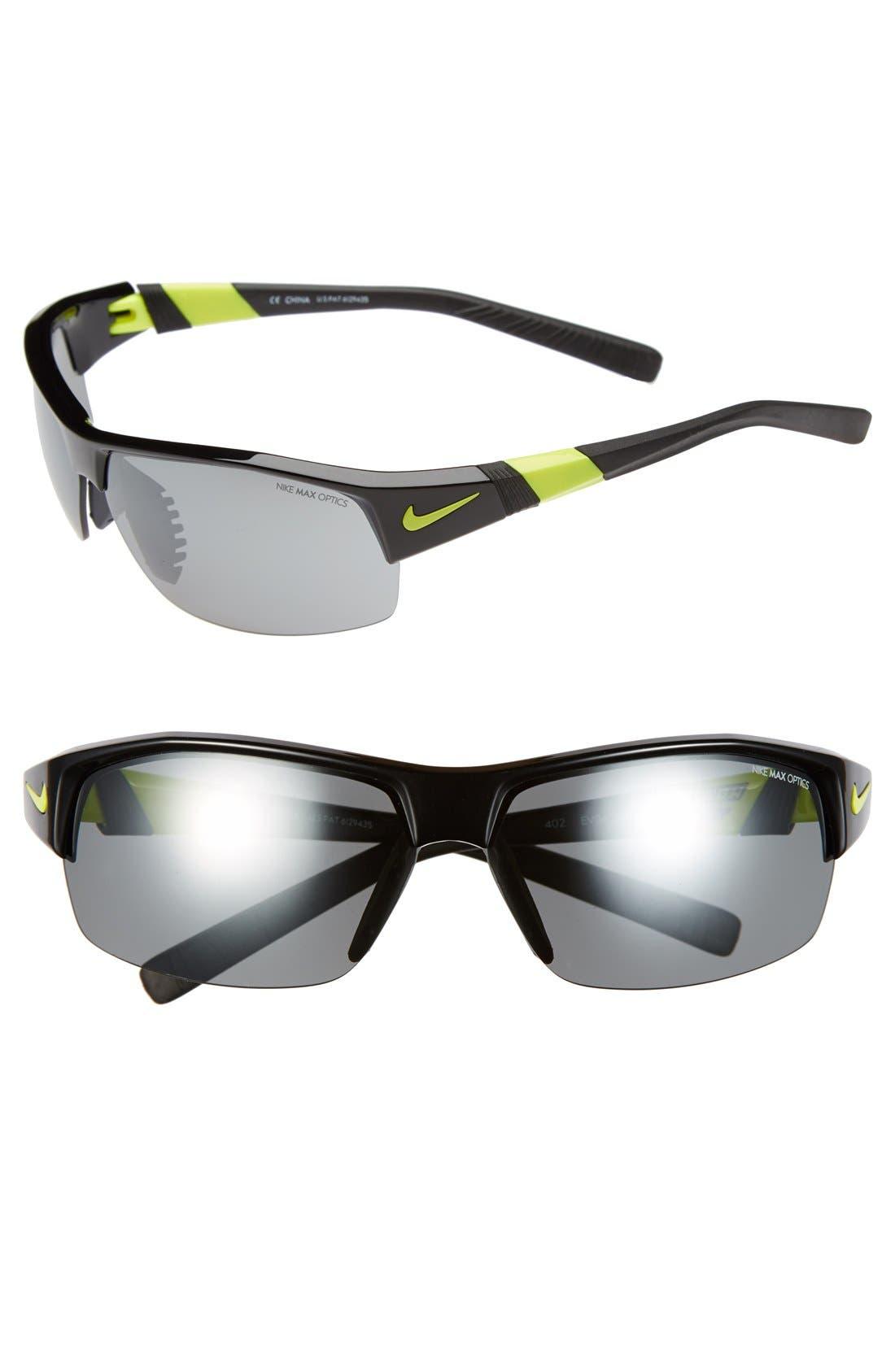 NIKE Show X2 Semi Rimless 69mm Sunglasses
