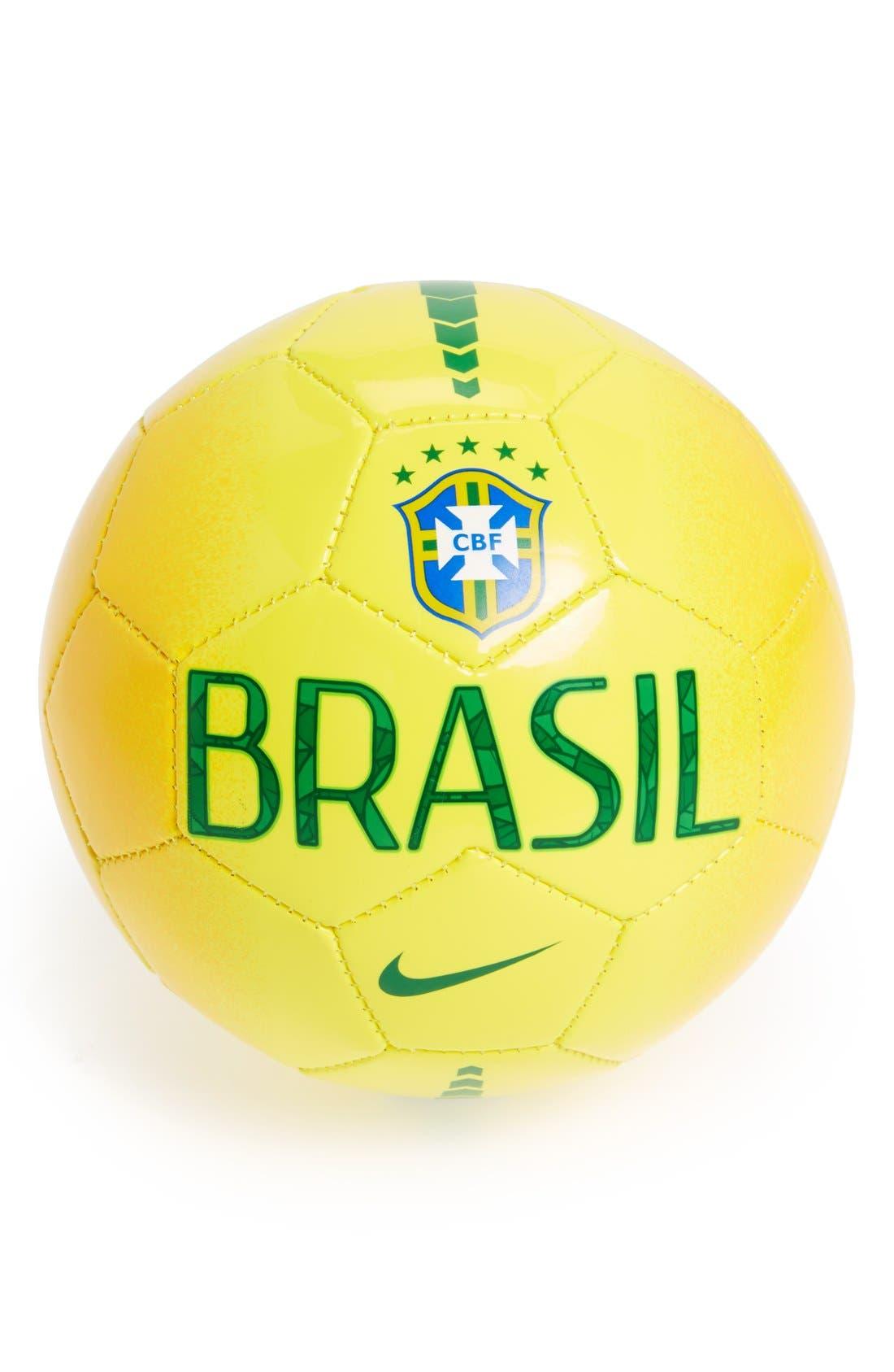 Alternate Image 1 Selected - Nike 'Brasil Skills' Small Soccer Ball