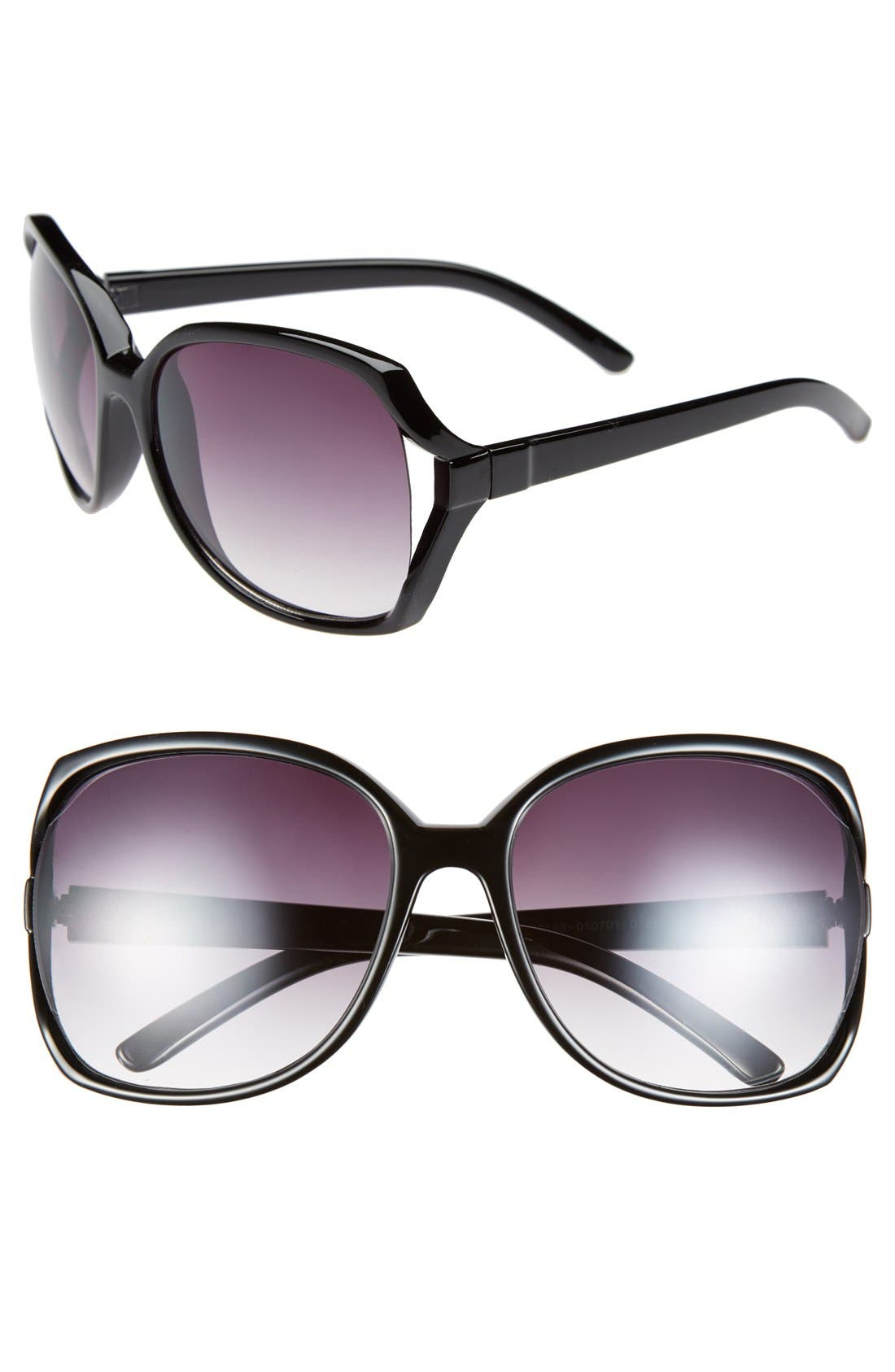 Alternate Image 1 Selected - Icon Eyewear 62mm Butterfly Sunglasses (Juniors)