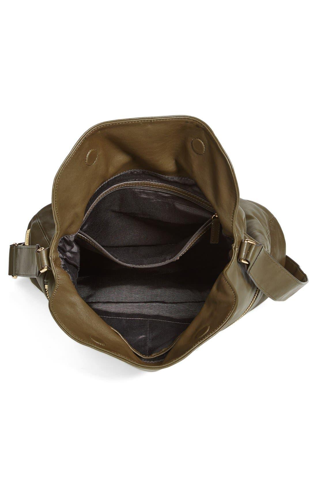 Alternate Image 3  - Elizabeth and James 'James' Convertible Leather Hobo