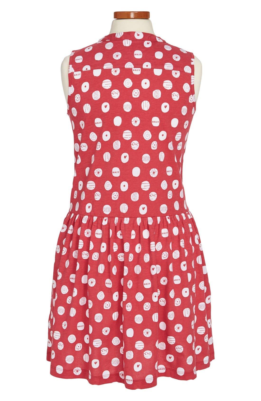 Alternate Image 2  - Burberry Sleeveless Print Dress (Toddler Girls, Little Girls & Big Girls)