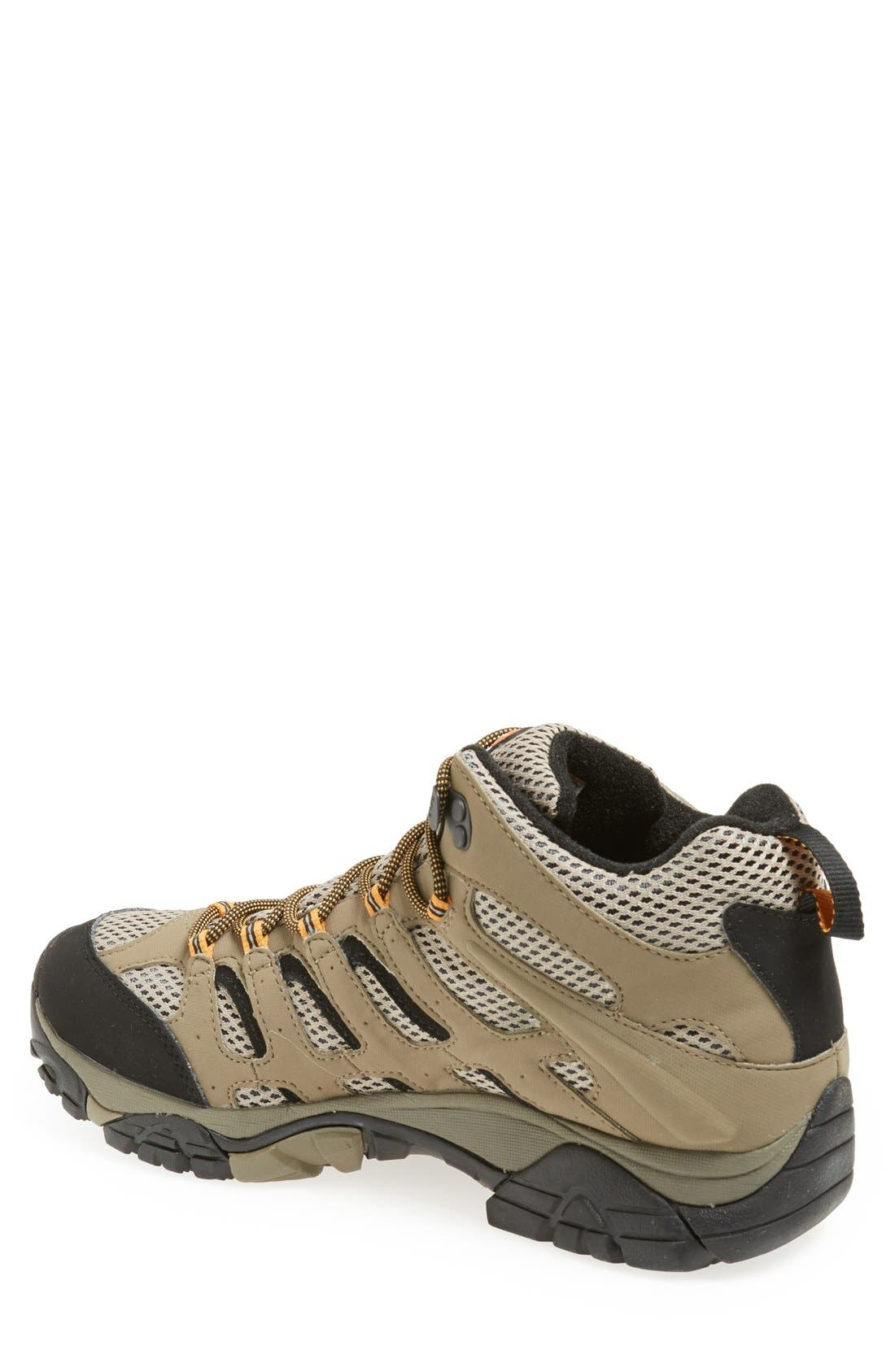 Alternate Image 2  - Merrell 'Moab Mid Gore-Tex® XCR' Hiking Boot (Men) (Online Only)