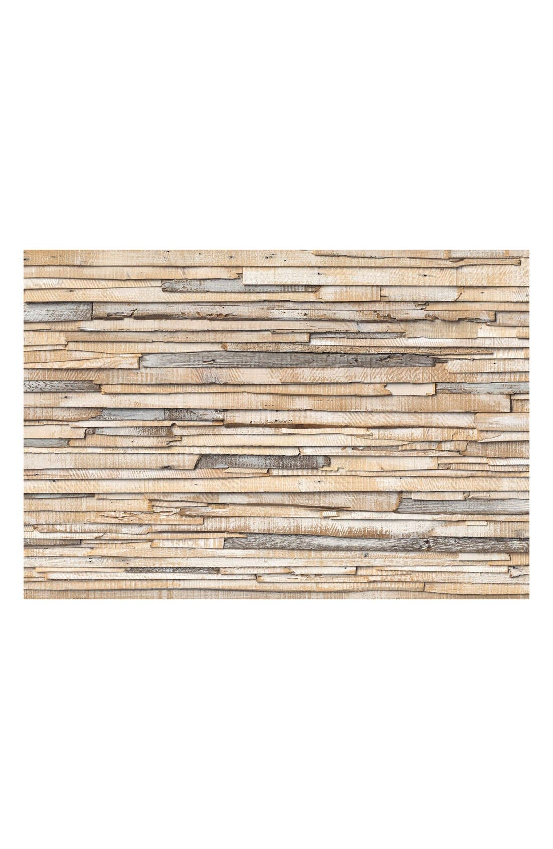 Alternate Image 1 Selected - Wallpops Whitewashed Wood Wall Mural