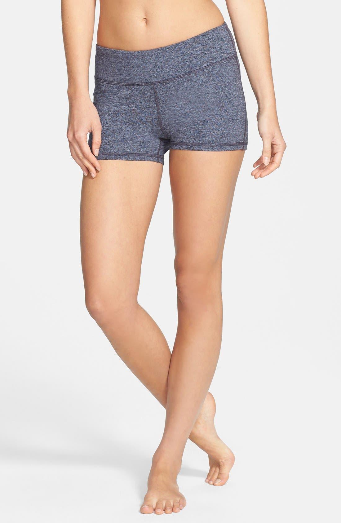 Main Image - Zella 'Haute' Cross Dye Shorts