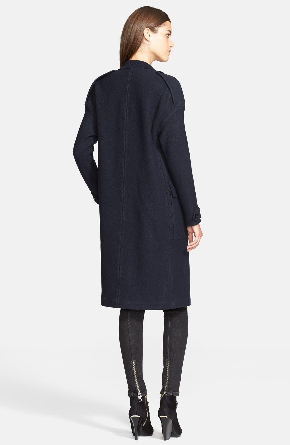 Alternate Image 2  - Burberry Brit 'Tylesmead' Wool Coat