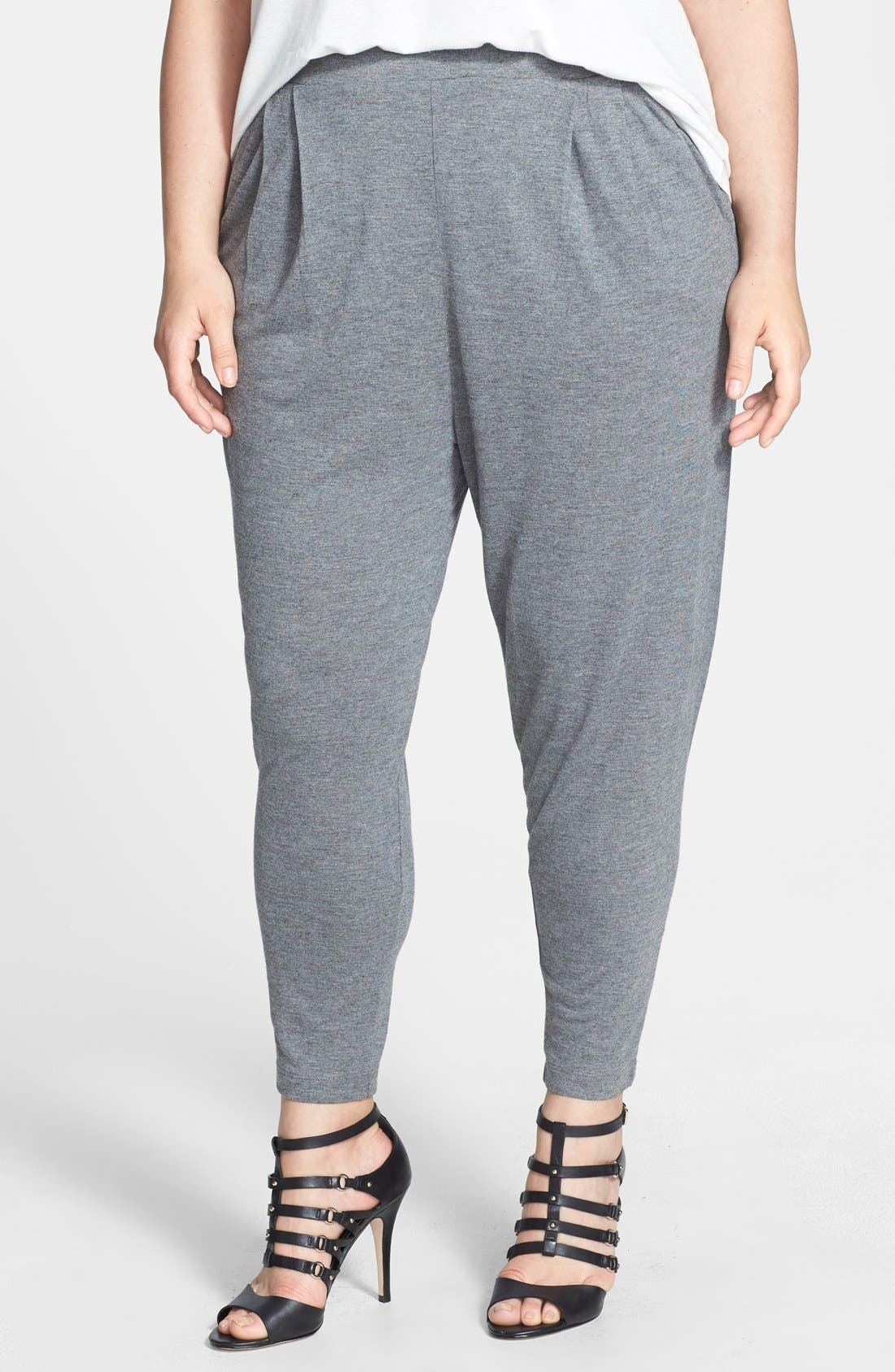 Alternate Image 1 Selected - Jessica Simpson 'Hadley' Slouchy Pants (Plus Size)