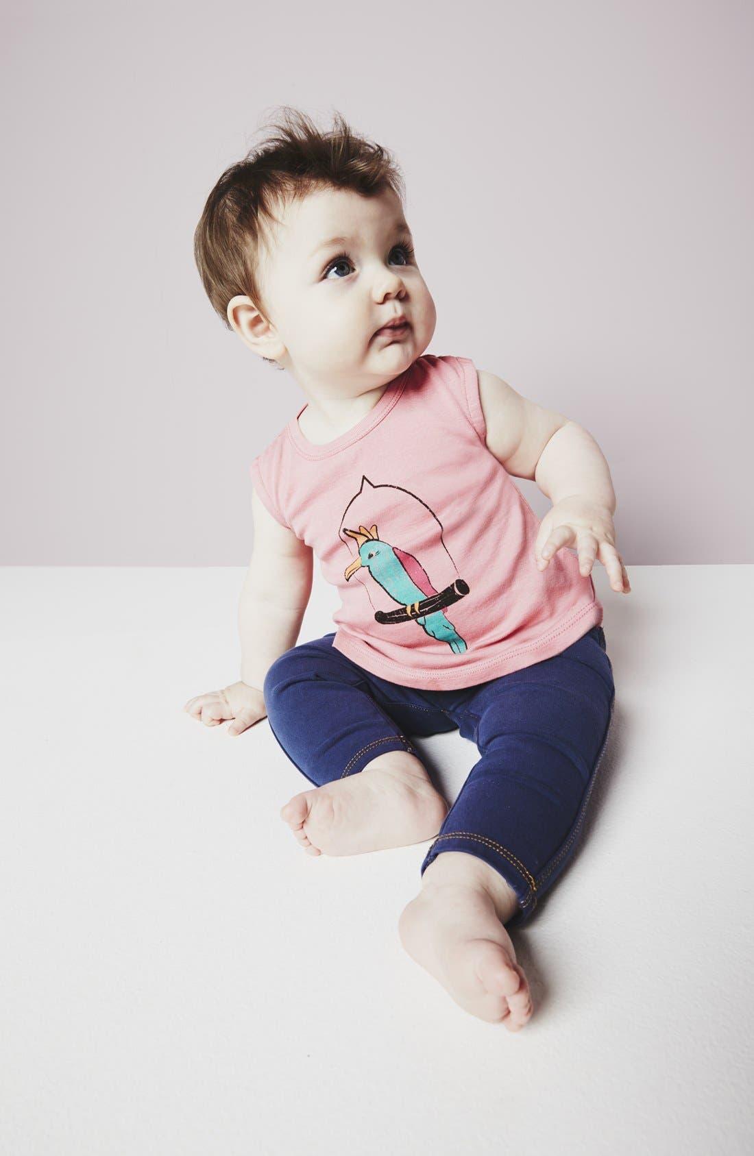 Alternate Image 2  - Tucker + Tate Jeggings (Baby Girls)