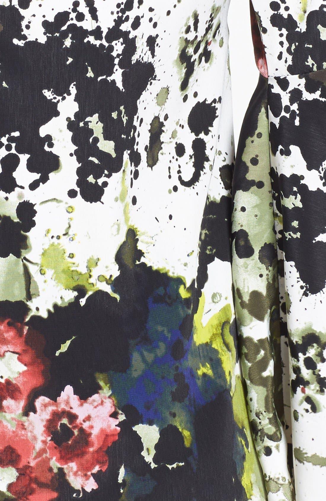 Alternate Image 3  - Tildon Print Bell Sleeve Minidress