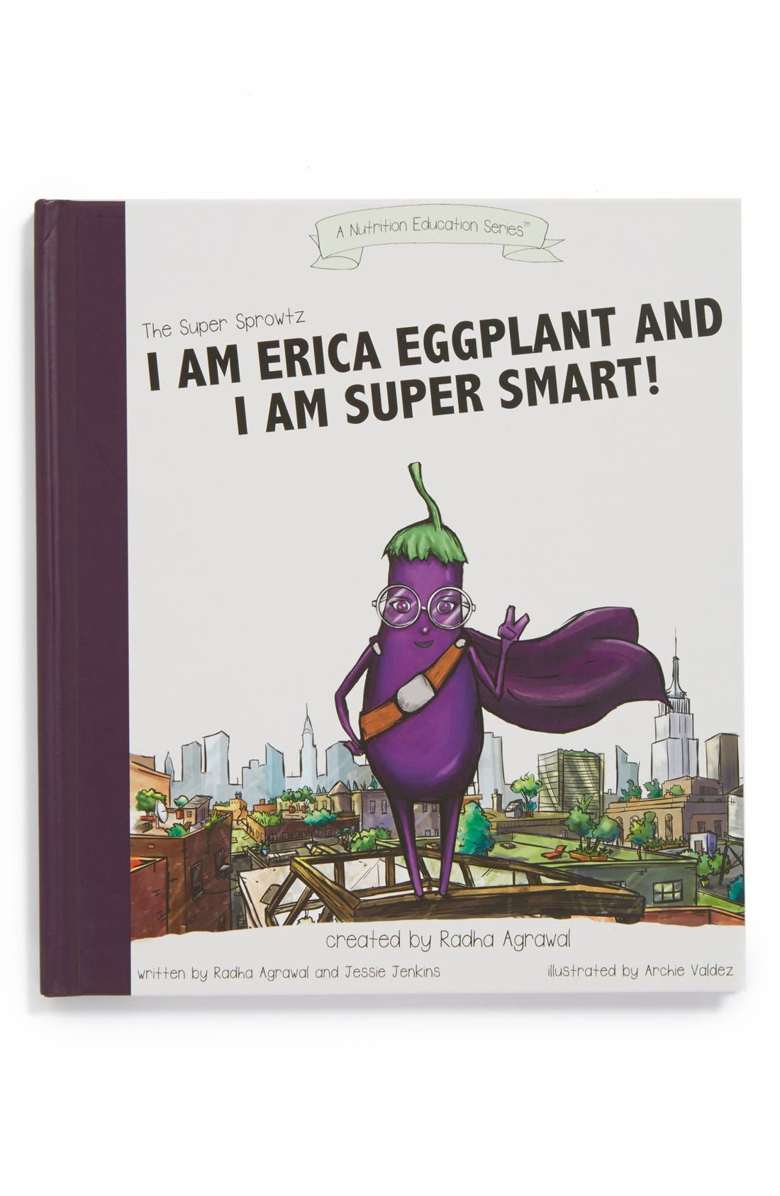 Alternate Image 1 Selected - Super Sprowtz 'I Am Erica Eggplant' Book